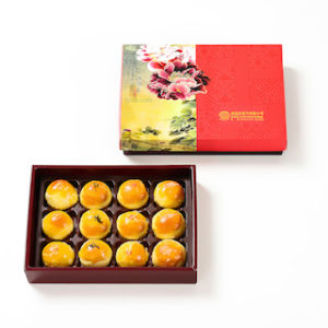 蛋黃酥禮盒 – 12入