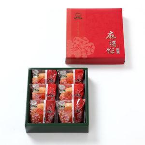 麻糬餅禮盒-6入