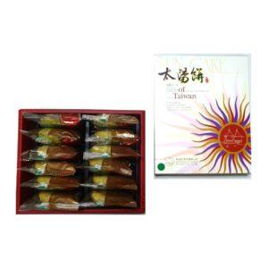 宇治抹茶太陽餅-12入