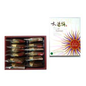 煉乳紅豆太陽餅-12入