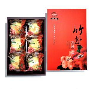 香菇冬菜綠豆椪-素食6入