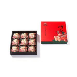 綠豆椪禮盒 – 素食-9入