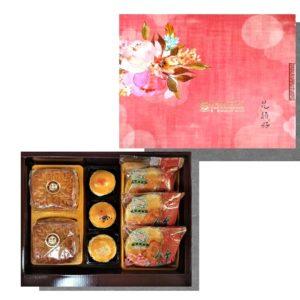 廣式月餅+蛋黃酥+麻糬餅禮盒