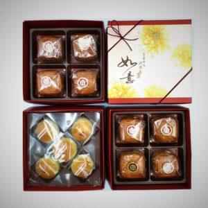 廣式月餅禮盒-三層(小月餅+蛋黃酥)