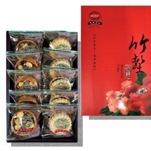 堅果塔+最中摩納卡禮盒