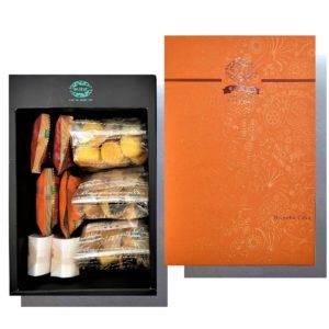 鳳梨酥三兄弟+紅豆、鳳梨、椰子綜合點心禮盒
